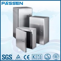 PASSEN 1.5 mm 316 ip68 casting steel explosion proof junction box,stainless steel electrical junction box price junction box