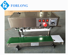 automatic sealing machine / Continuous band sealer machine DBF-900LW/FR-900 sealing machine for plastic bag