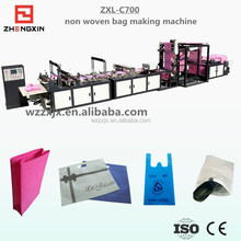 ZXL-C700 multi functional automatic non woven bag making machine price