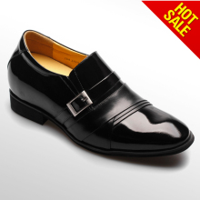 Genuine Leather Men Dress Shoes Fashion Buckles Loafers Business Formal Shoes