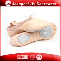 Canvas Ballet Slipper pink ballet soft dace shoe for kids and women