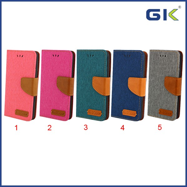 [GGIT] Separable Denim Holster TPU+PU Flip Cover For IPhone 7 Cell Phone Case