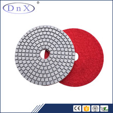 125mm/5inch 3000# diamond wet polishing pads for stone