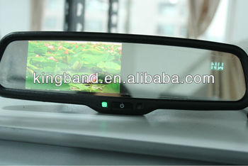 latest 3.5/4.3inch auto rearview mirror with monitor and compass display your best choice