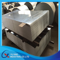 4x8 galvanized steel sheet/22 gauge galvanized steel sheet