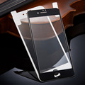 3D carbon fiber tempered glass For Iphone 7 / 7plus full cover screen protector