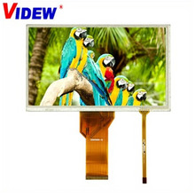 High quality touch screen 7.0 inch monitor TFT lcd display module with 800 x 480 pixels