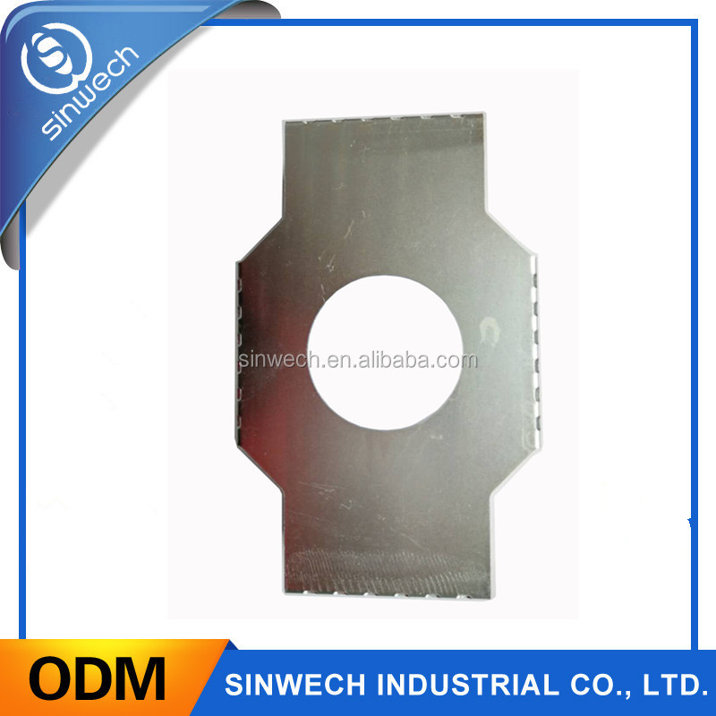 High quality galvanizing of stainless steel and bending bracket parts