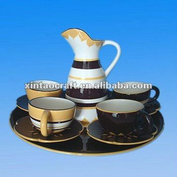 newly design ceramic coffee cup saucers