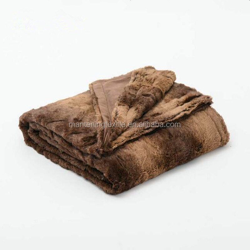 yiwu textile supplier warm keeping supersoft material double layer pv plush fleece blanket