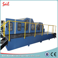 Good price double cylinder double doffer comb machinery