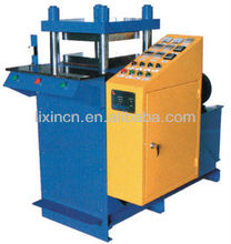 double-head silicone logo making machine on cloth/jeans/textile/underwear