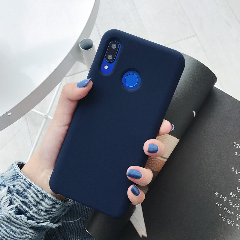 NEW Liquid Silicone PC with <strong>Microfiber</strong> Cover Anti-<strong>shock</strong> Protective Silicone Case For Huawei Nova 3