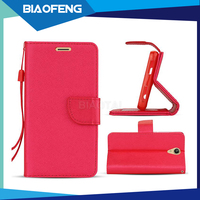 Wholesale Price Luxury PU Leather Case For BLU Energy Diamond With Cardslots And Kickstand Function