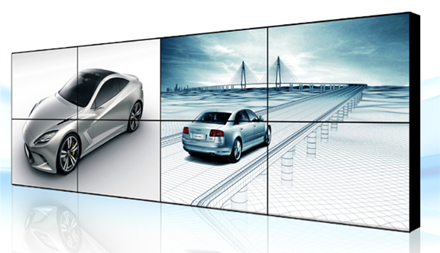 With Samsung led hd display 3x3 LCD DID video wall walls price 46 inch 5.3mm seamless tv wall