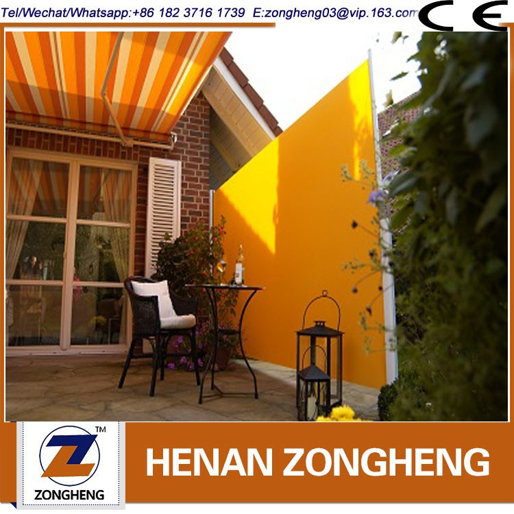 Sunshade retractable awning outdoor canopy Patio Used Side Awning