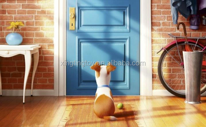 cut dog rabbit hot sale the secret life of pets spotted dog Max Duke Snowball Soft stuffed Plush animal toys