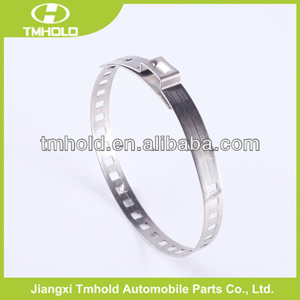 Customized size Adjustable single ear hose clamp