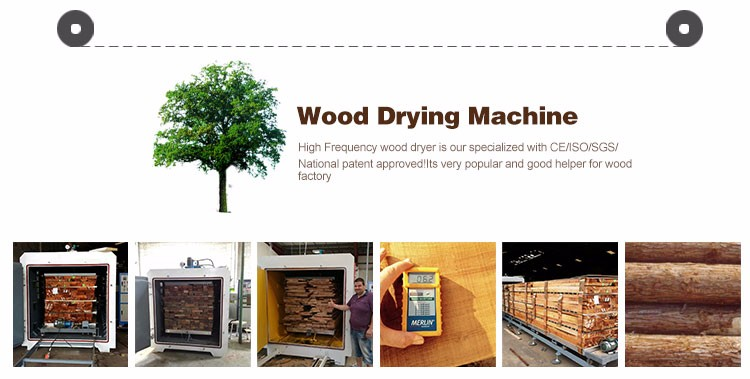 HF vacuum timber drying chamber from DX company