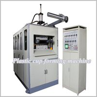 2014 New Fully Automatic Hydraulic Disposable Plastic lid/cup/bowl Thermoforming Machine plastic cup making machine price