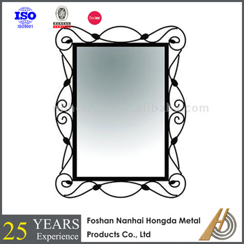 metal frame Decorative mirror for wall for Home