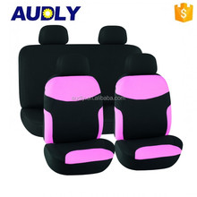 Good Looking Girly Car Seat Cover Pink for Female Lady Driver