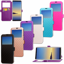 Luxury Cross PU Leather Wallet Flip Back Phone Cover Case For Samsung Galay Note 8 Fundas holster flip holder women bags cover