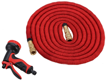 Long 75FT anti-corrosion expandable fabric garden hose