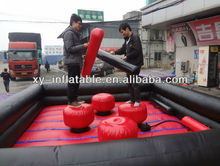 Outdoor inflatable arena sport game