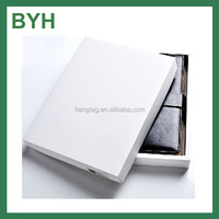 A5 Luxury PU cover paper note book cover with box