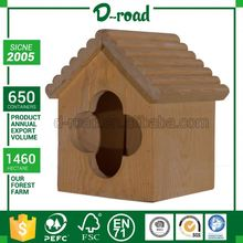 Customization Outdoor Stand Wooden Bird Feeder Parts