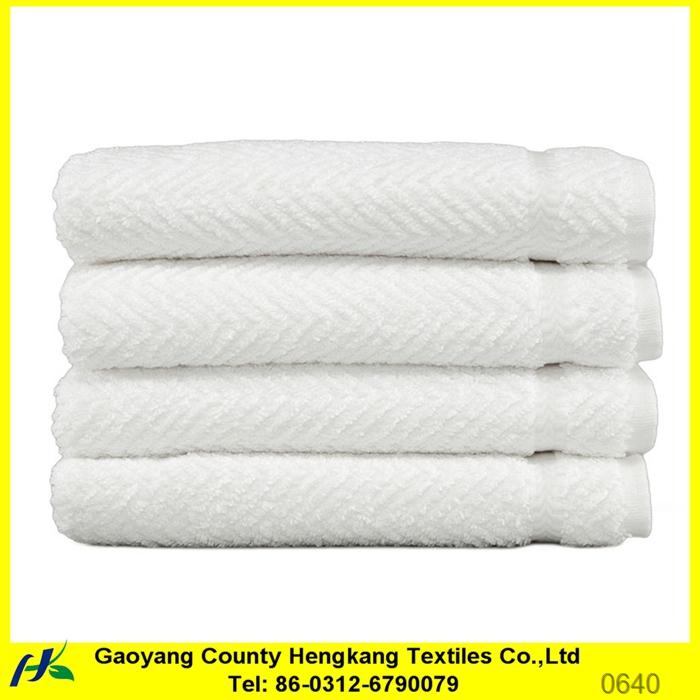 greek border jacquard cotton bath towel supplier in china