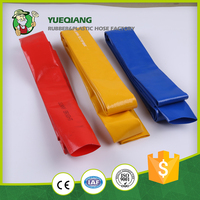 Plastic 3 inch pvc irrig lay flat hose with low price