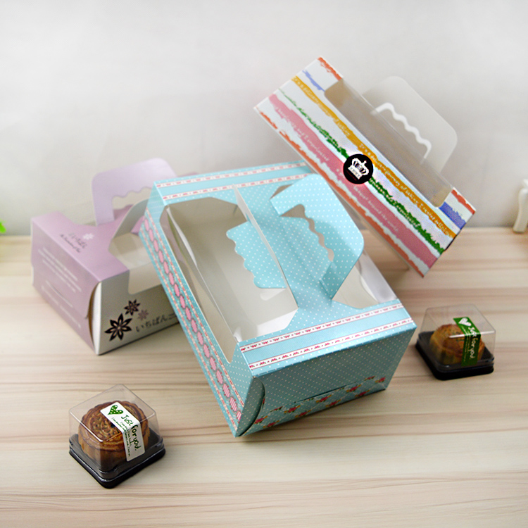 High quality food grade white cardboard snack box