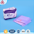 US cotton menstrual pad for lady sanitary napkin towel of day and night use
