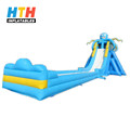 PVC Inflatable high slide and high quality inflatable water slide for adult