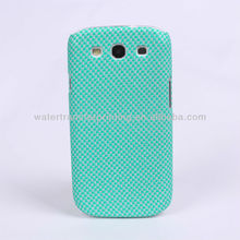 SX004-5 Carbon Fiber patterns Samsung i9300 cell phone case