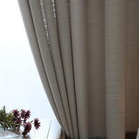 Latest design promotional hotel project fancy living room yarn dyed dubai curtain fabric