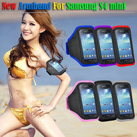 for samsung galaxy s4 mini sports armband case for Waterproof bag