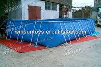 2013 hot sales above ground mini outdoor swimming pool