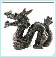 Wholesale resin novelty Chinese dragon statue figurines