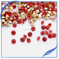 point back chaon 8mm rhinestone 888 chaton stone for jewelry accessary ,wedding dress saree