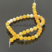 GE0590 Fashion Hot Sale Natural Lace Agate Round Stone Beads