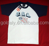 Applique custom-made chicago wholesale t shirts