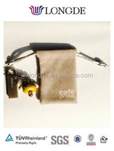 small and cute velvet gift and jewellery pouch with good quality and cheap price