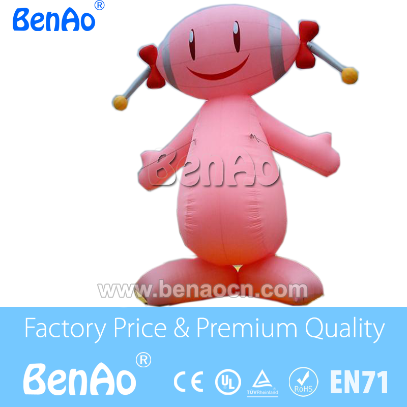 AC636 Outdoor Advertising Inflatable Large Cartoon Character For Sale