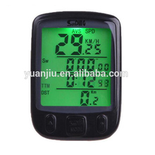 LCD Computer Odometer Sport Cycle- Waterproof Outdoor Wired Speed Meter Multifunctional - for Mountain Bike Cycling