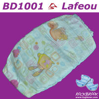 Disposable Sleepy Baby Diaper Manufacturer in China BD1001