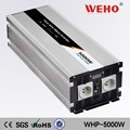 CE ROHS approved 5000w pure sine wave power inverter