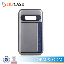Rugged Combo Armor Box Credit Card Holder Case For Samsung Galaxy J1 Ace